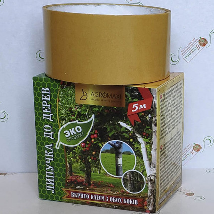 Липкий пояс для дерев 5 м екстра сила (вир-во Польша)