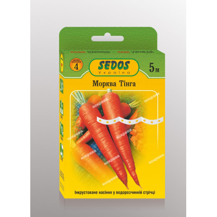 Морква на стрічці Тінга  5м