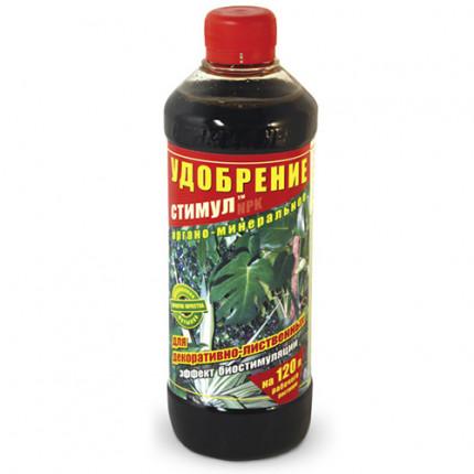 Добриво Стимул органо-мінеральне для декоративно-листкових 500 мл