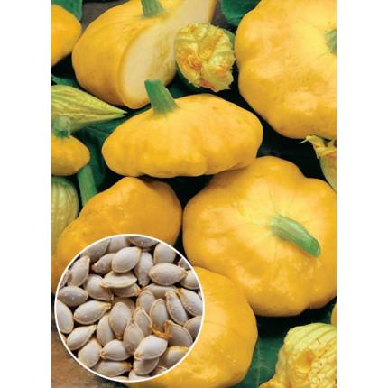 Патиссон Оранжевый весовой (семена) 1 кг