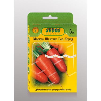 Морковь на ленте Шантане Ред Кор 5м