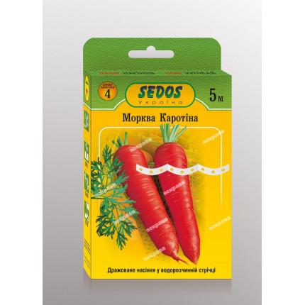 Морковь на ленте  Каротина 5м