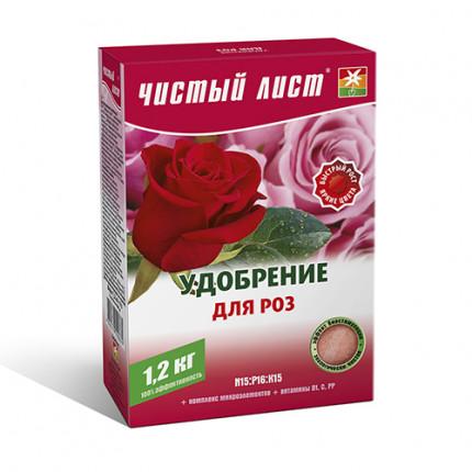 Добриво кристалічне для троянд Чистий Лист 1.2 кг