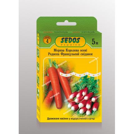 Морковь на ленте Королева Осени 5м