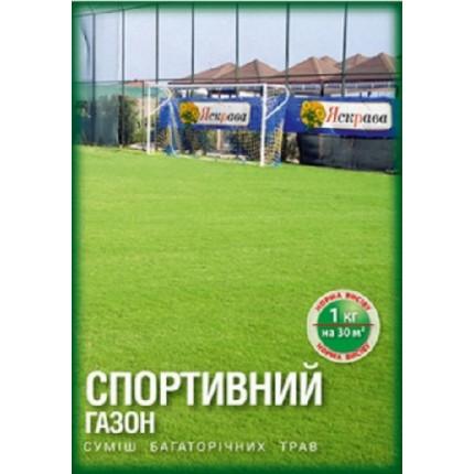 Трава газонная Спортивный газон 400 гр