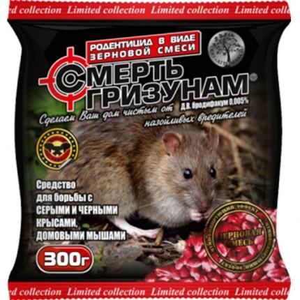 Смерть грызунам 300 г зерно масляно-сырное
