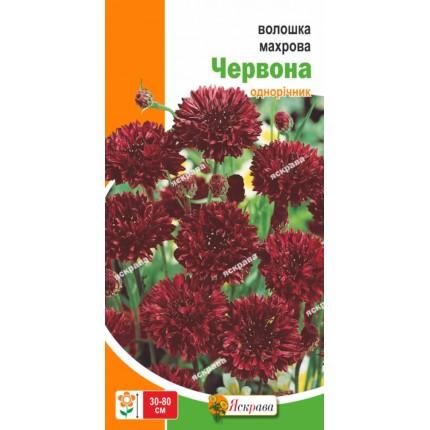 Василёк Махровый Красный 0.5 г
